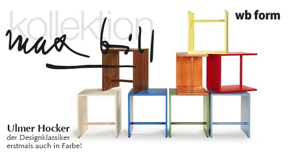 Hocker designklassiker  Ulmer Hocker: Der Designklassiker.