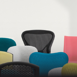 Chairs that work as hard as you do. Herman Miller.