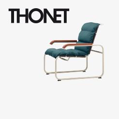 thonet s 1200 s 1200 esche gebeizt schwarz. Black Bedroom Furniture Sets. Home Design Ideas
