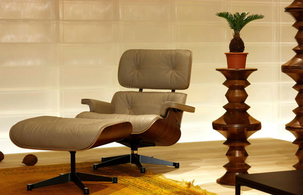 Lounge Chair & Ottoman Charles & Ray Eames, 1956