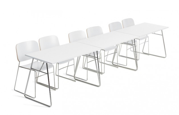 Lite table by Offecct and Broberg & Ridderstråle