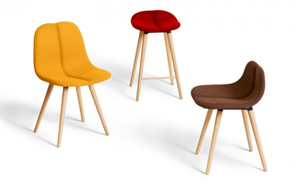DUO WOOD by Offecct and Patrick Norguet