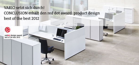 Conclusion von Vario: red dot award: product design best of the best 2012