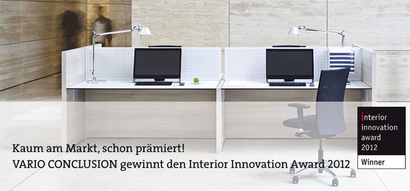 Vario Conclusion - interior innovation award 2012