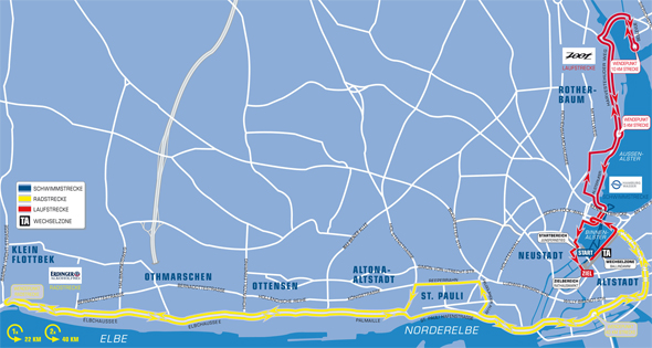 Streckenkarten Jedermann 2012
