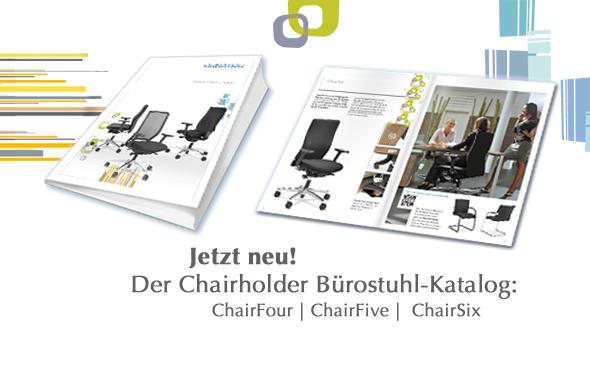 Der neue Chairholder-Bürodrehstuhl-Katalog