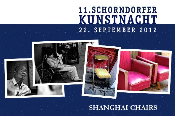 """Chairholder präsentiert """"Shanghai Chairs"""" bei der 11. Schorndorfer Kunstnacht"""
