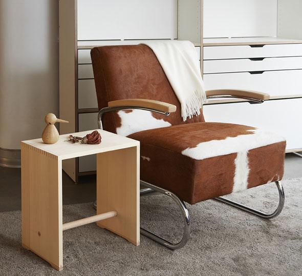 wb form ag max bill kollektion ulmer hocker zitronengelb. Black Bedroom Furniture Sets. Home Design Ideas
