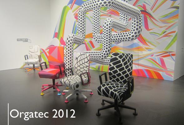 Team Chairholder für Sie auf der Orgatec 2012