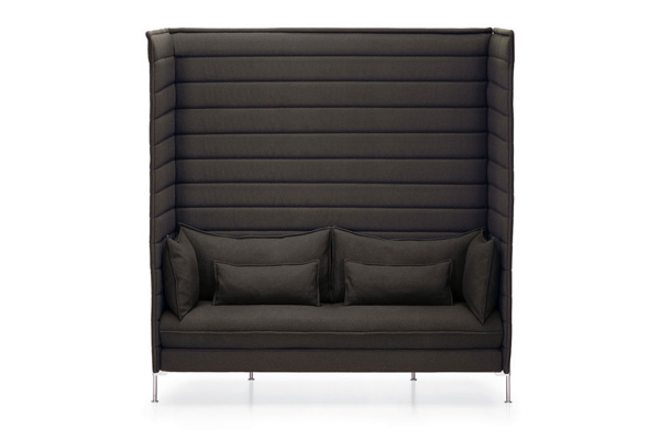 Alcove Xtra High Sofa. Developed by Vitra in Switzerland. Design: Ronan & Erwan Bouroullec