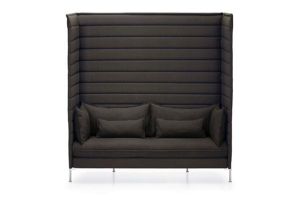 Alcove Xtra High Sofa. Developed by Vitra in Switzerland. Design: Ronan & Erwan Bouroullec