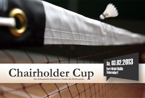 Chairholder Cup 2013 | Das Schorndorfer Badminton-Turnier für Hobbyspieler