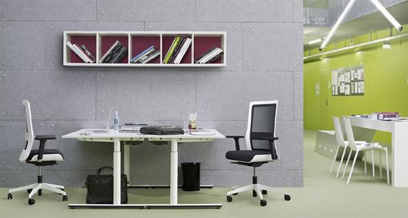 Bürodrehstuhl Poi von Wiesner Hager. Design: neunzig° design.