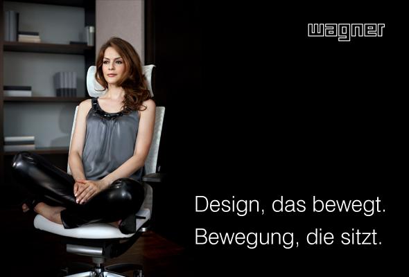 Ihr schönster Mitarbeiter… WAGNER-Bürostuhl, Titan®