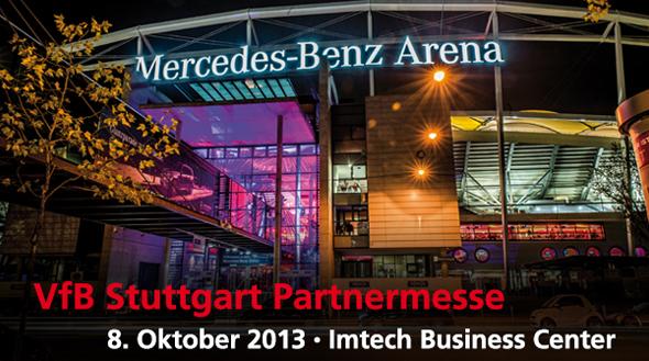 Chairholder auf der VfB Stutttgart Partnermesse