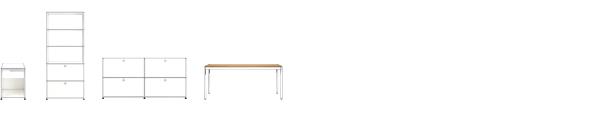 USM Möbelbausysteme - QUICK SHIP bei Chairholder