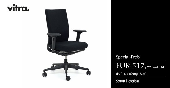 """ID Chair """"black edition"""" von vitra."""