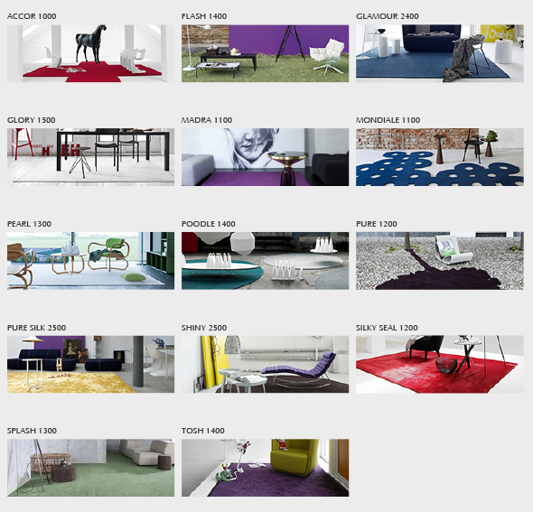 Be Different with RUGX - Mix and Match, Object Carpet