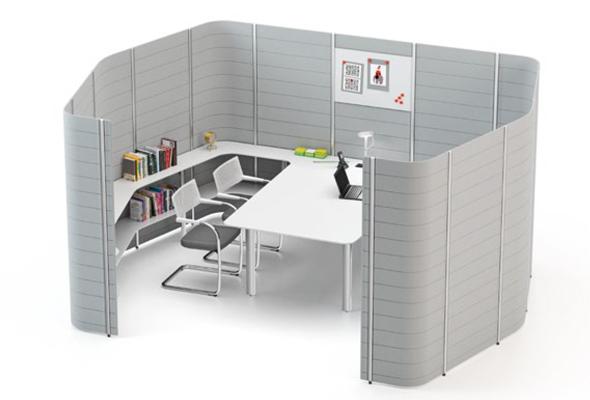 Workbays von vitra - Design Ronan & Erwan Bouroullec