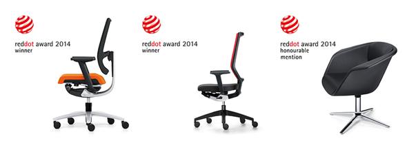 swing up, quaterback und sweetspot bekommen Red Dot Auszeichnungen 2014