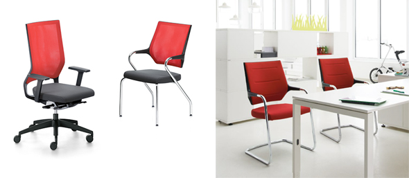 swing up quarterback und sweetspot von sedus erhalten red dot award 2014 chairholder. Black Bedroom Furniture Sets. Home Design Ideas