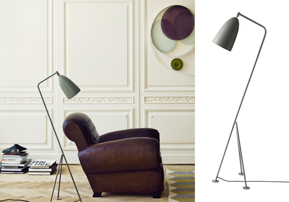 Gräshoppa Floor Lamp designed by Greta Grossmann - GUBI