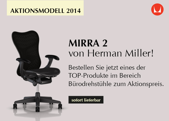 Mirra 2 von Herman Miller - Das Chairholder Aktionsmodell 2014