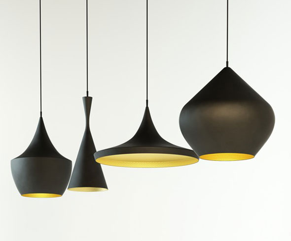 tom dixon beat beat wide white pendant bls01wh. Black Bedroom Furniture Sets. Home Design Ideas
