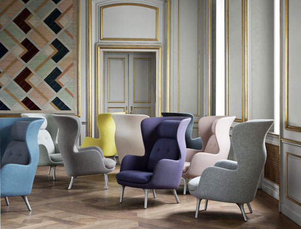 ro sessel fritz hansen designer jaime hayon. Black Bedroom Furniture Sets. Home Design Ideas