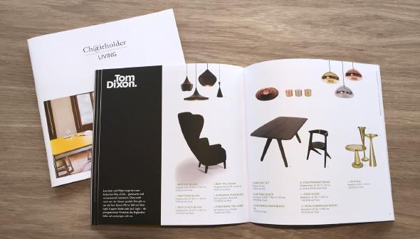 Der Chairholder Living Katalog 2014/2015