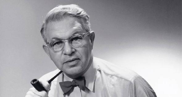 Der Designer Arne Jacobsen.
