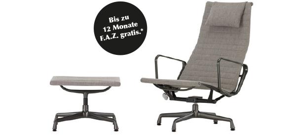 Aluminium Chair EA 124 & EA 125 – F.A.Z.-Special-Edition von vitra.