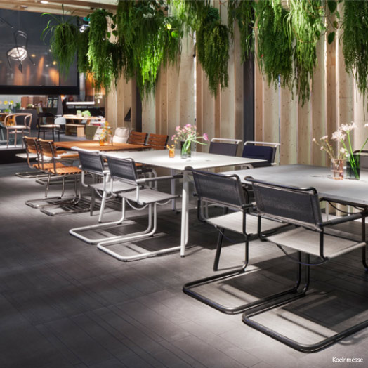 Outdoor Collection, all seasons von Thonet – imm cologne 2016.