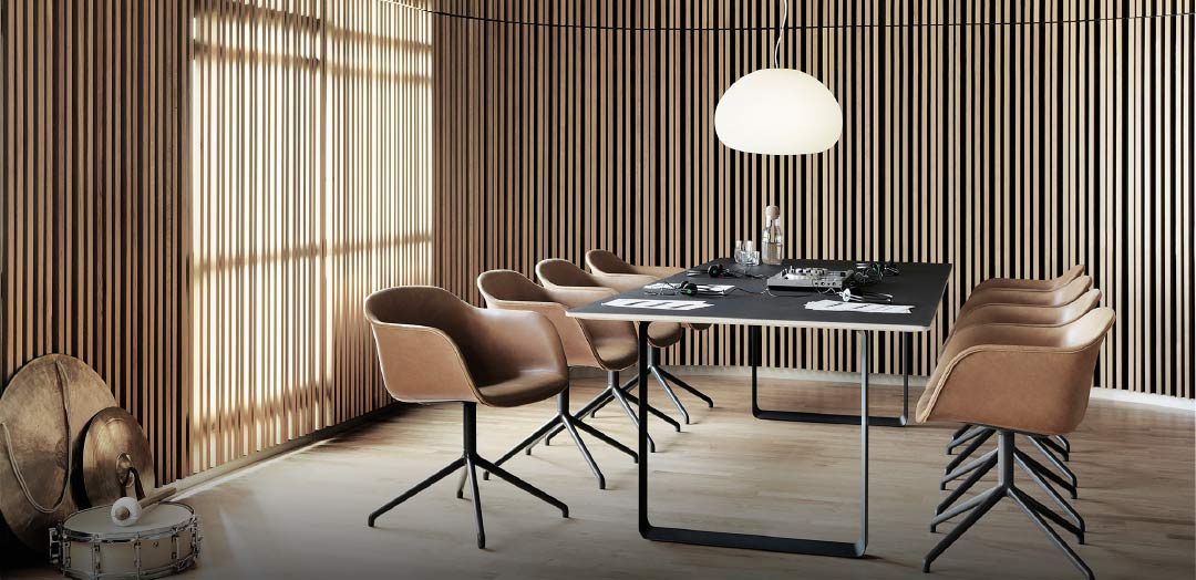 Fiber Chair & 70/70 Table – Muuto.