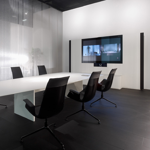 Medienwand – Walter Knoll Executive Offices.