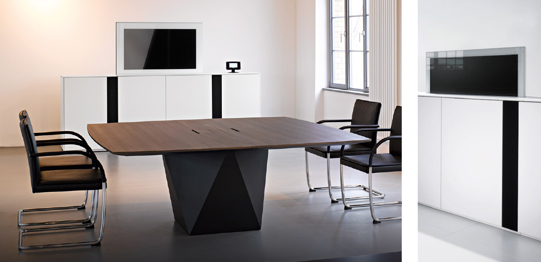 Mediensideboard – Walter Knoll Executive Offices.