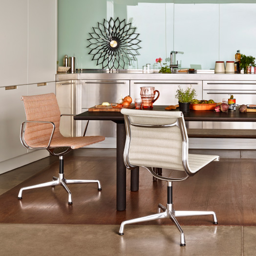 Vitra Home Stories – Dining Room – Aluminium Chair.