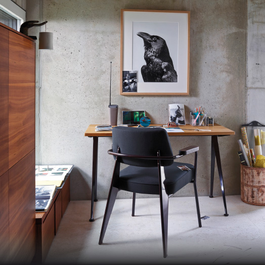 Vitra Home Stories – Home Office – Fauteuil Direction.