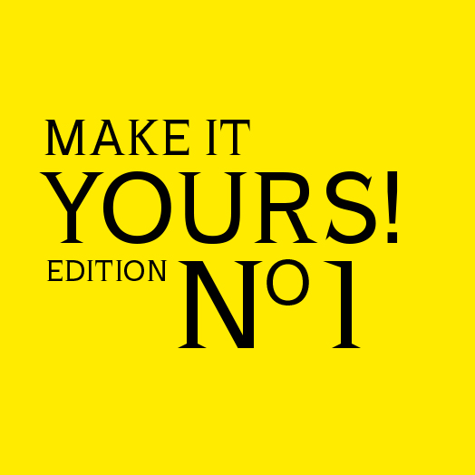 MAKE IT YOURS! Edition No. 1 – Neues Magazin von USM Haller