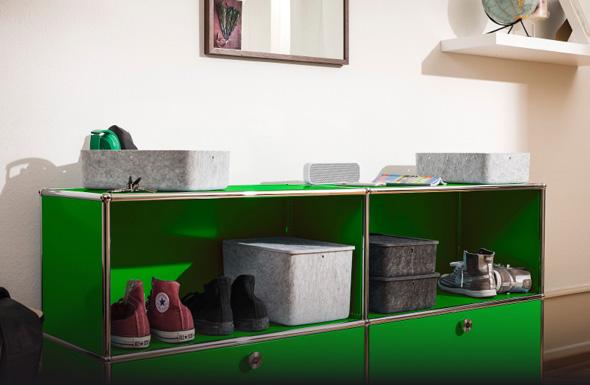 usm haller usm inos box tief 250 tablett. Black Bedroom Furniture Sets. Home Design Ideas