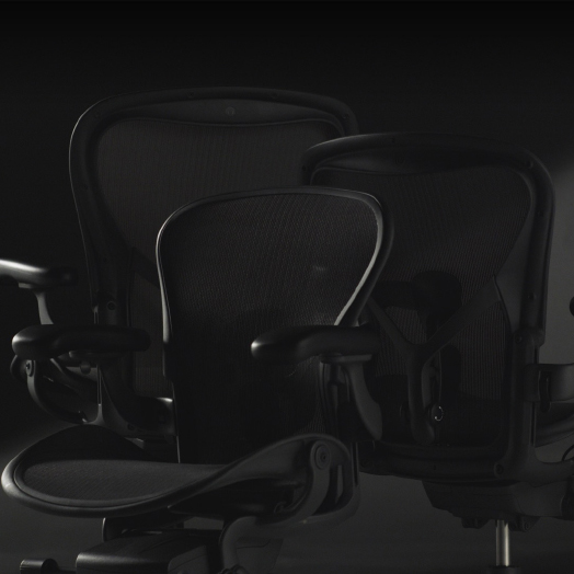Integratives Design – Der neue Aeron von Herman Miller.