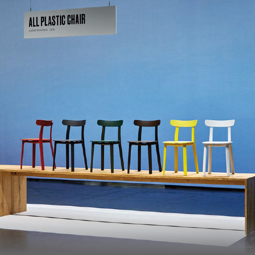 All Plastic Chair von Jasper Morrison.