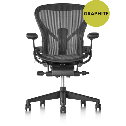 Aeron remastered graphite