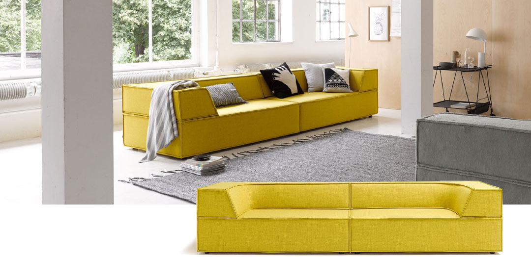 das neue sofa von cor trio design by team form ag. Black Bedroom Furniture Sets. Home Design Ideas