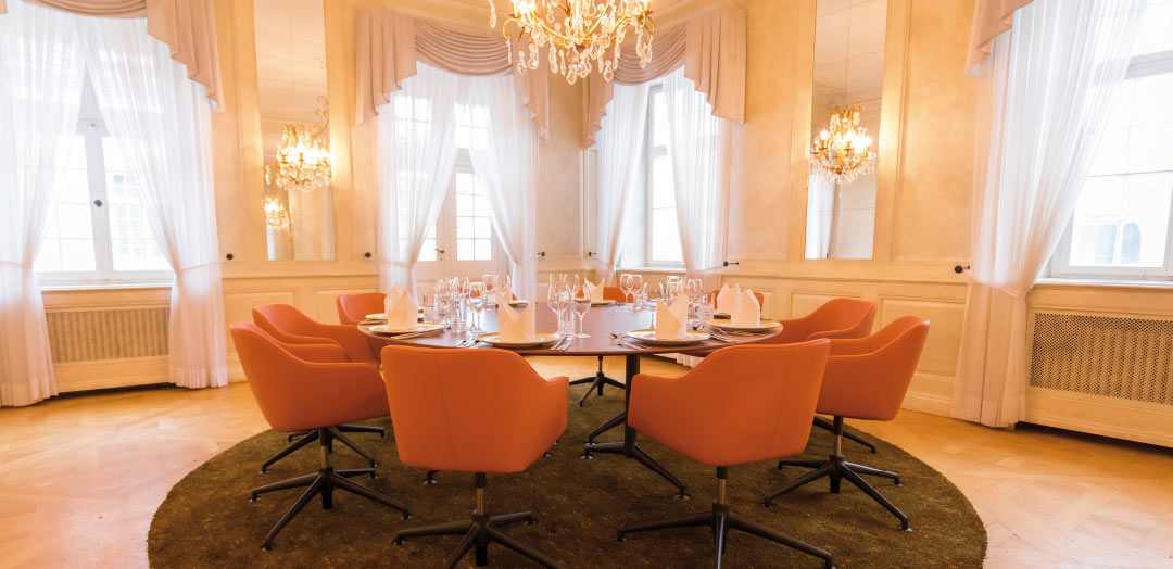 "Der neue ""Private Dining Room"" – Business Club Stuttgart."