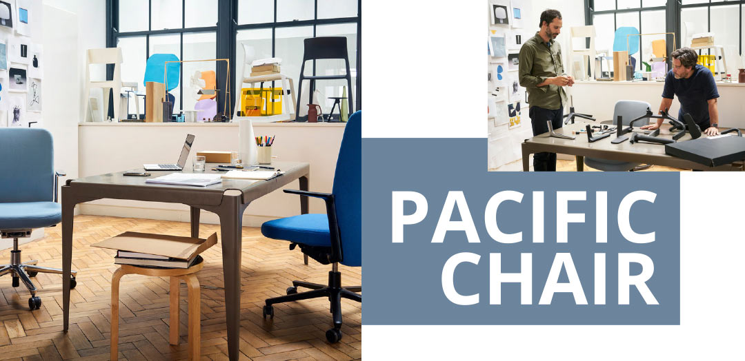 Pacific Chair von Vitra.