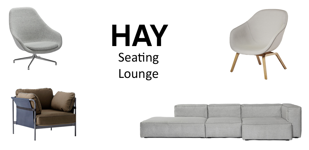 HAY Seating. Loungemöbel.