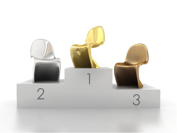 Olympia Aktion Panton Chair von vitra