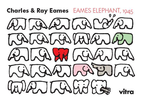Charles & Ray Eames - Eames Elephant, 1945