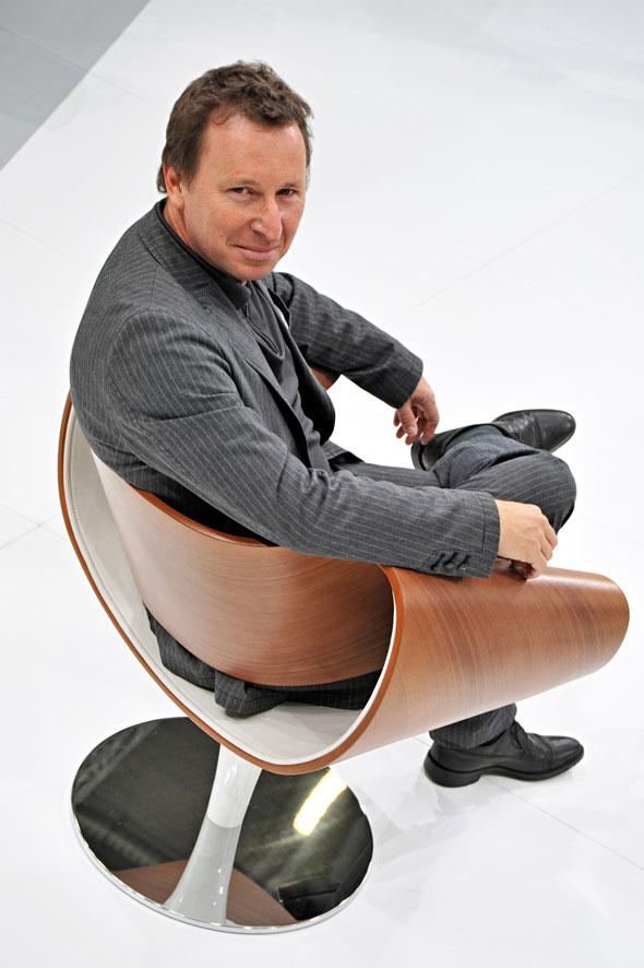Der Perillo mit seinem Designer Martin Ballendat